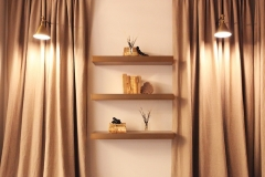 Crescent Office Shelving - Curated by Kristin Mullen
