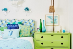 Shady Creek Youth Bedroom - Curated by Kristin Mullen