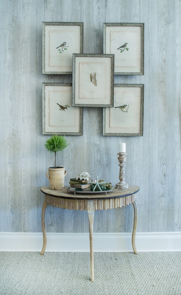 Antique bird prints and various decor in Kristin Mullen's eponymous Snider Plaza shop in Dallas, Texas.